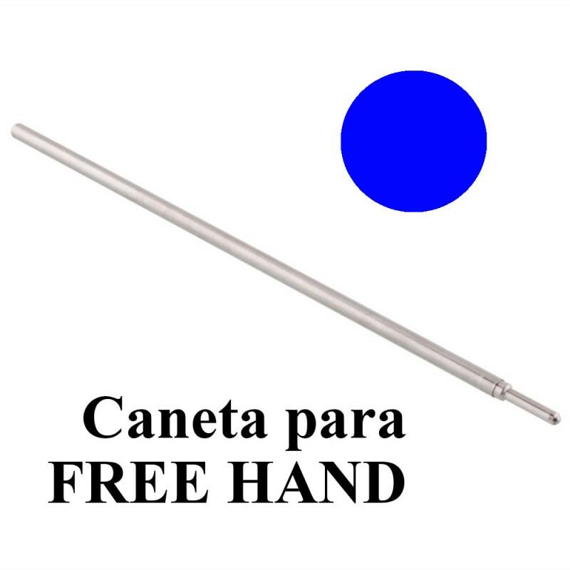 Carga de Caneta, Ref.2027 azul