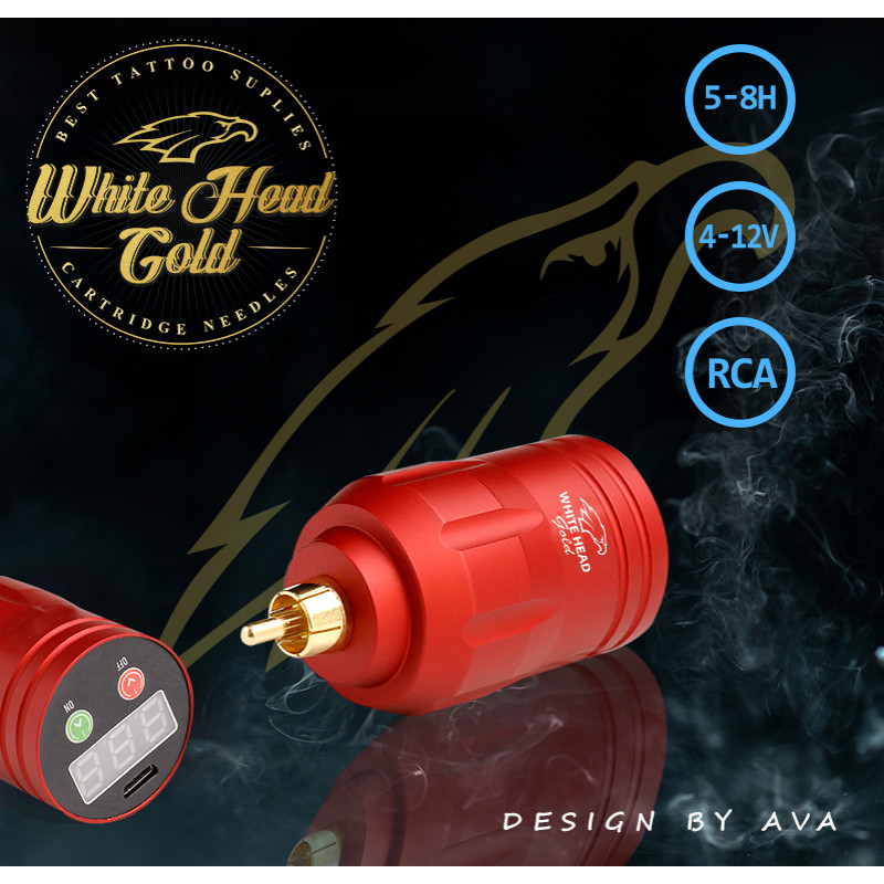 Bateria WHITE HEAD GOLD G2, REF PS119-RED