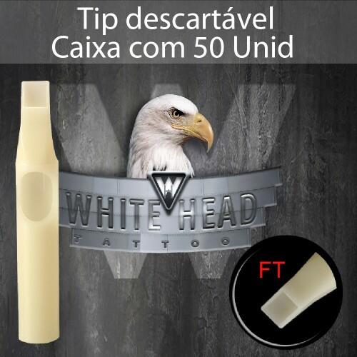 Tip descartavel White Head ref: 9FT.